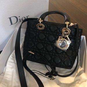Lady Dior Supple Small Black
